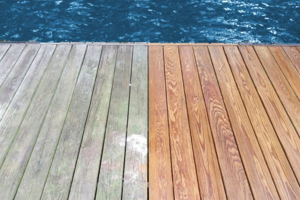 Deck cleaning and fence cleaning and restoration